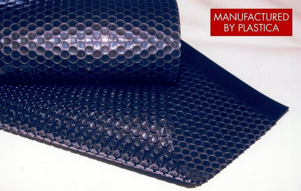 Solární fólie - Micro 400 mic/4,0m,bubliny 12mm,barva:metalická modrá
