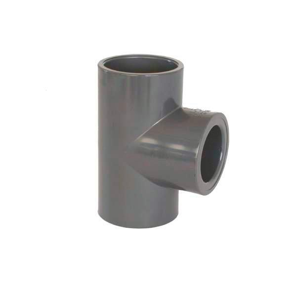PVC tvarovka - T-kus 90° redukovaný 50 x 20 mm