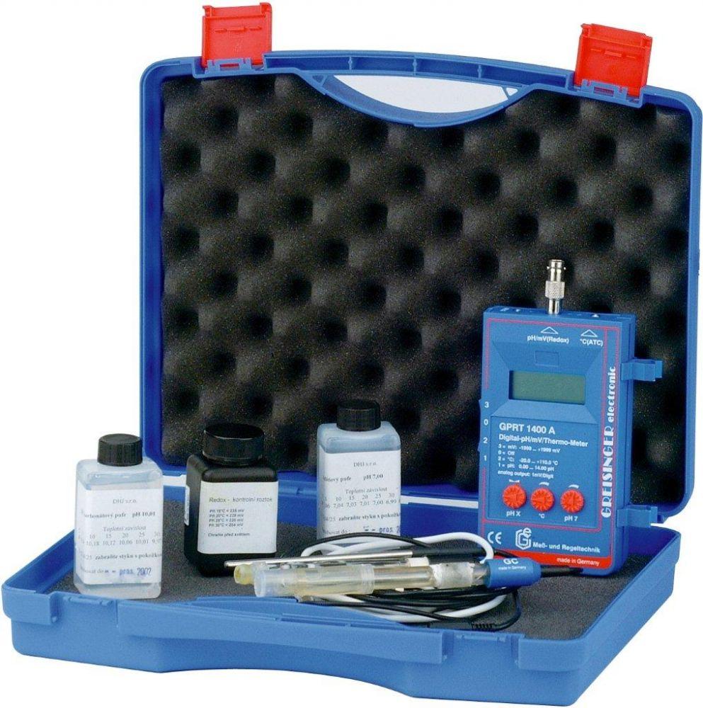 Tester digitál – pH, ORP, teplota (kufřík)