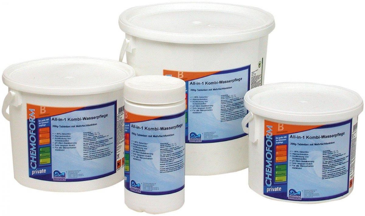 BST 25 kg – Bazén. Super Tablety, 3-kombinace, tableta 200 g