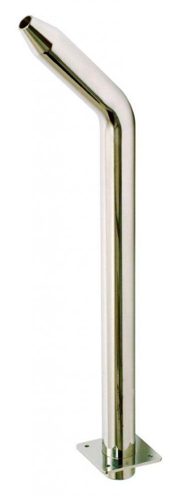 Chrlič - Píšťala vysoká,D25 mm,připojení 63 mm,AISI 316,proud nahoru