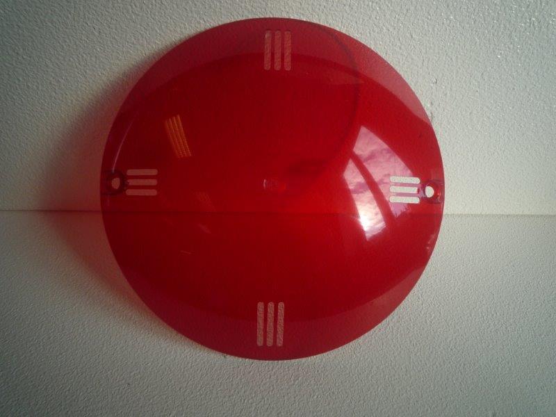 Barevná clonka - Světlo VA 300 W (červená)