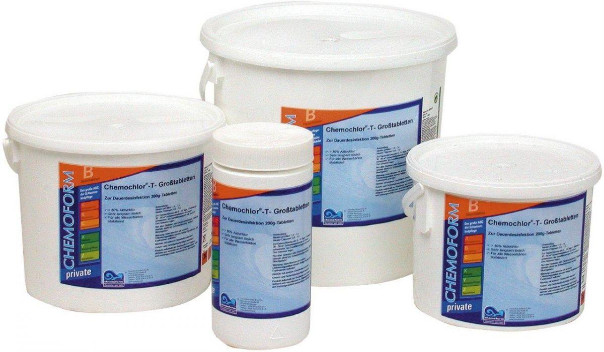 Chlórové tablety pomalurozpustné 200 g - maxi - 10 kg