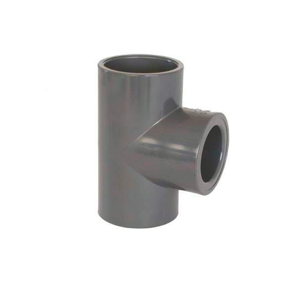 PVC tvarovka - T-kus 90° redukovaný 250 x 110 mm
