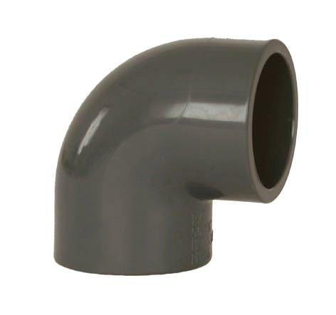 PVC tvarovka - Úhel 90° 225 mm