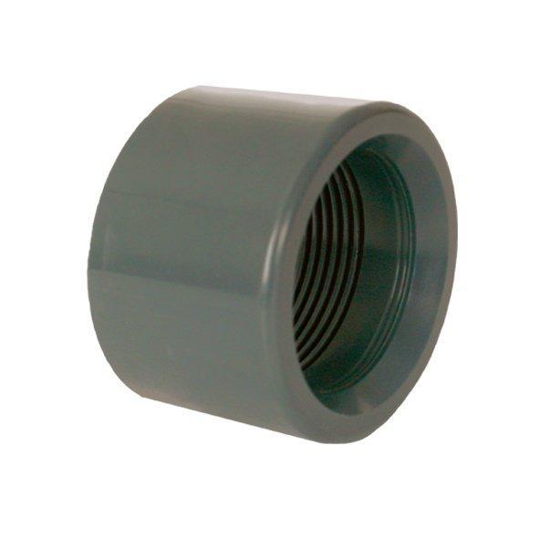 """PVC tvarovka - Redukce krátká vkládací se závitem 40 x 1"""" int."""