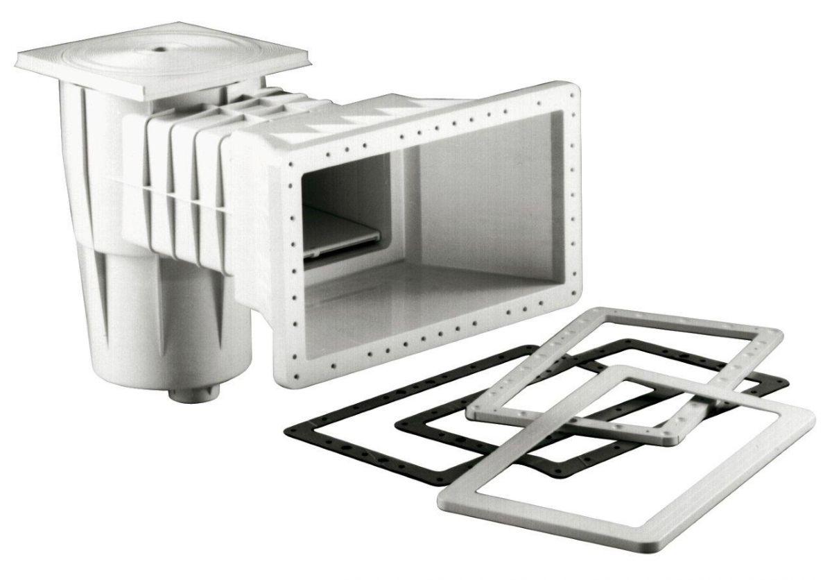 Skimmer Kripsol sání 400 mm x 230 mm, pro fólie, s vak. kotoučem
