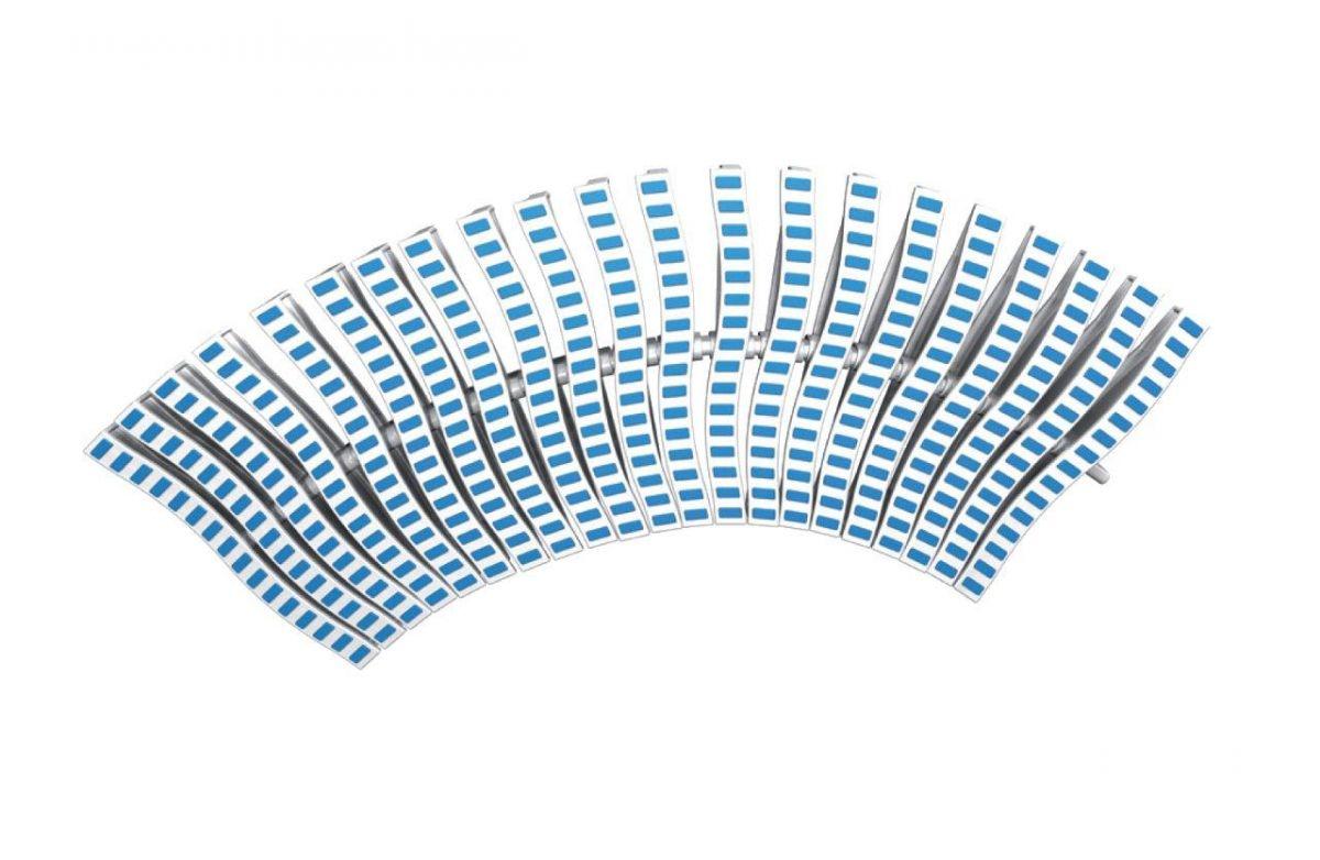 Roll rošt ONDA – flexi, šířka 200 mm, výška 35 mm, délka 500 mm