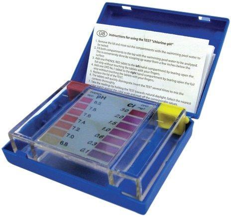 """Tester DPD """"F"""" – Cl/pH – metoda pomocí tablet,balení: pouzdro"""