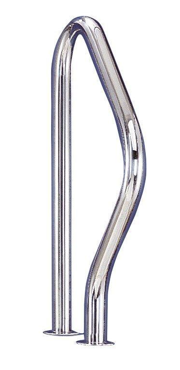 Žebříkové madlo pro výstup - AISI 304