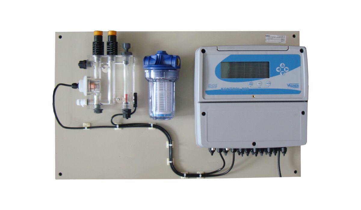 Dávkovací stanice SEKO K800 - pH/ORP/Cl volný a vázaný + 2x magnetická dávkovací pumpa