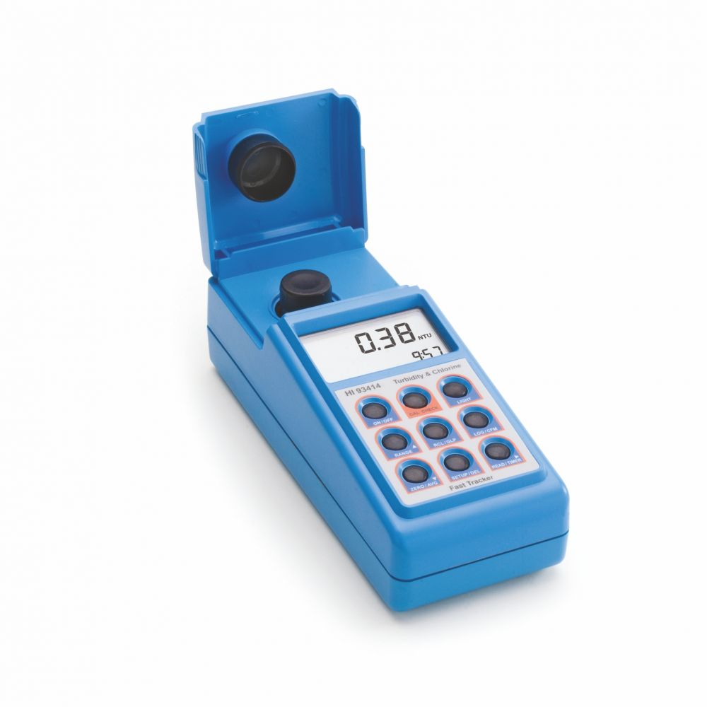 Tester fotometrický / zákalometr - pH, TCL (celkový chlór) + FCL (volný chlór)
