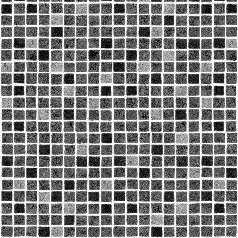 AVfol Decor - Mozaika Šedá%pipe% 1,65m šíře, 1,5mm, metráž