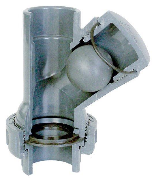 Tvarovka - Kulový zpětný ventil Y 75 mm