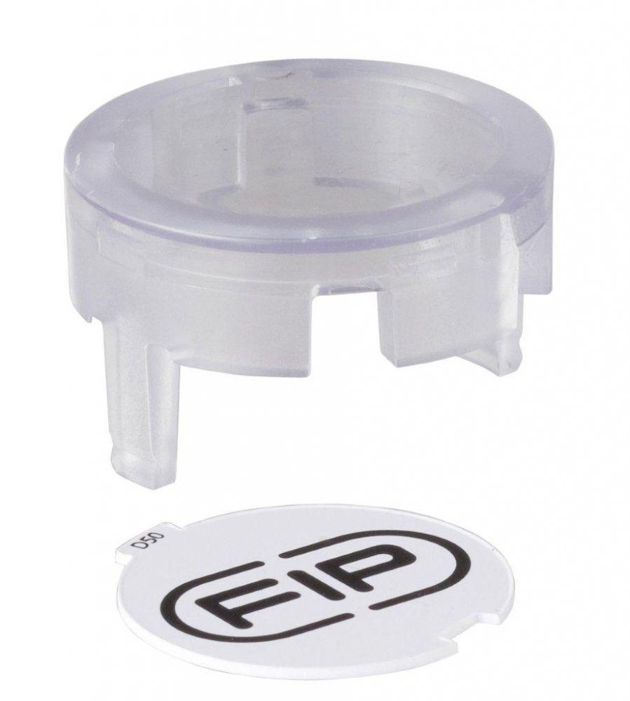 Průhledné víčko pro ventil Easyfit d= 63 mm