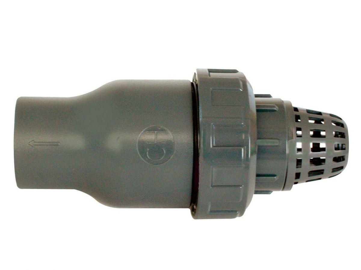 Tvarovka - Kuželový zpětný ventil 50 mm se sacím košem