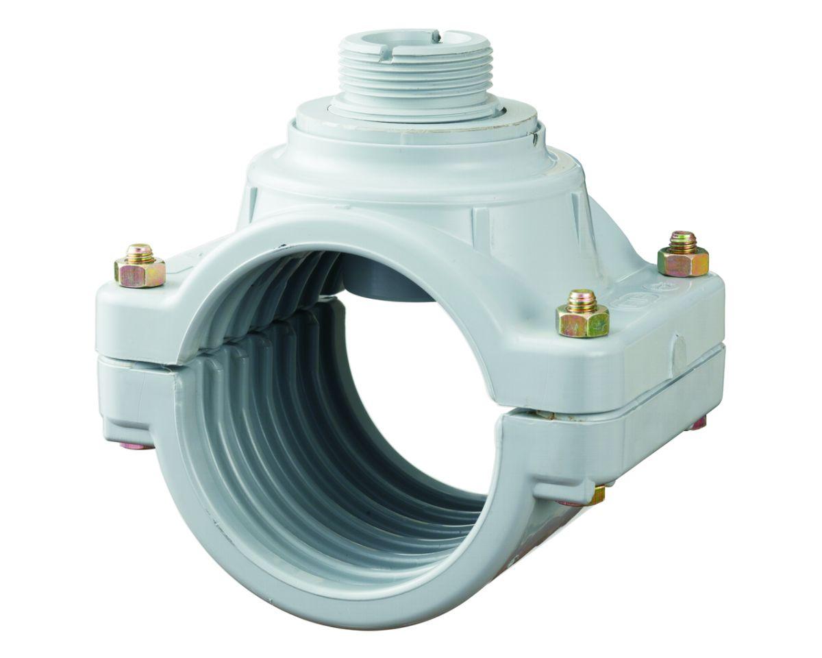 Digit. průtokoměr - Sedlo navrtávací 225 mm pro senzor průtoku