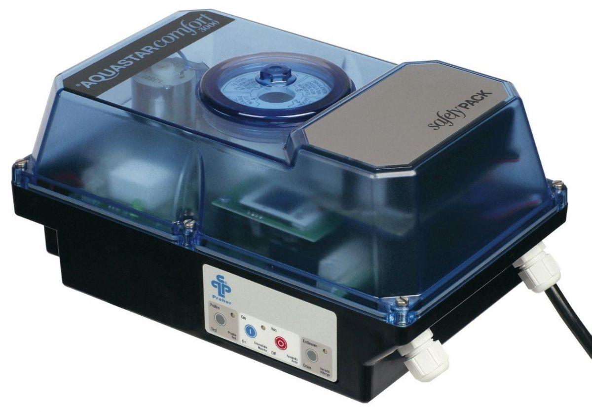 Aquastar 3001 Safetypack -- el. ovládání 6-ti cest. ventilu,čas. řízený