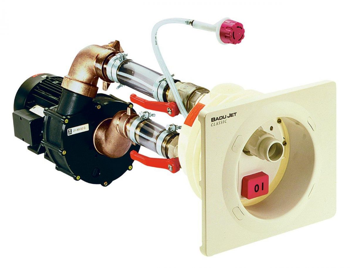 Domontážní sada BADU JET CLASSIC, 58 m3/h, 2,6 kW 400 V