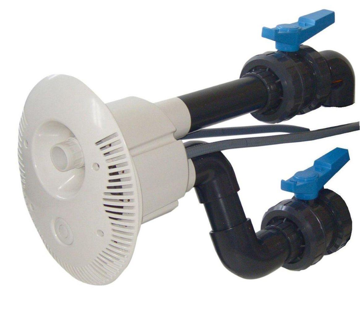 Předmontážní sestava V-JET, tvarovky a potrubí d= 75 mm