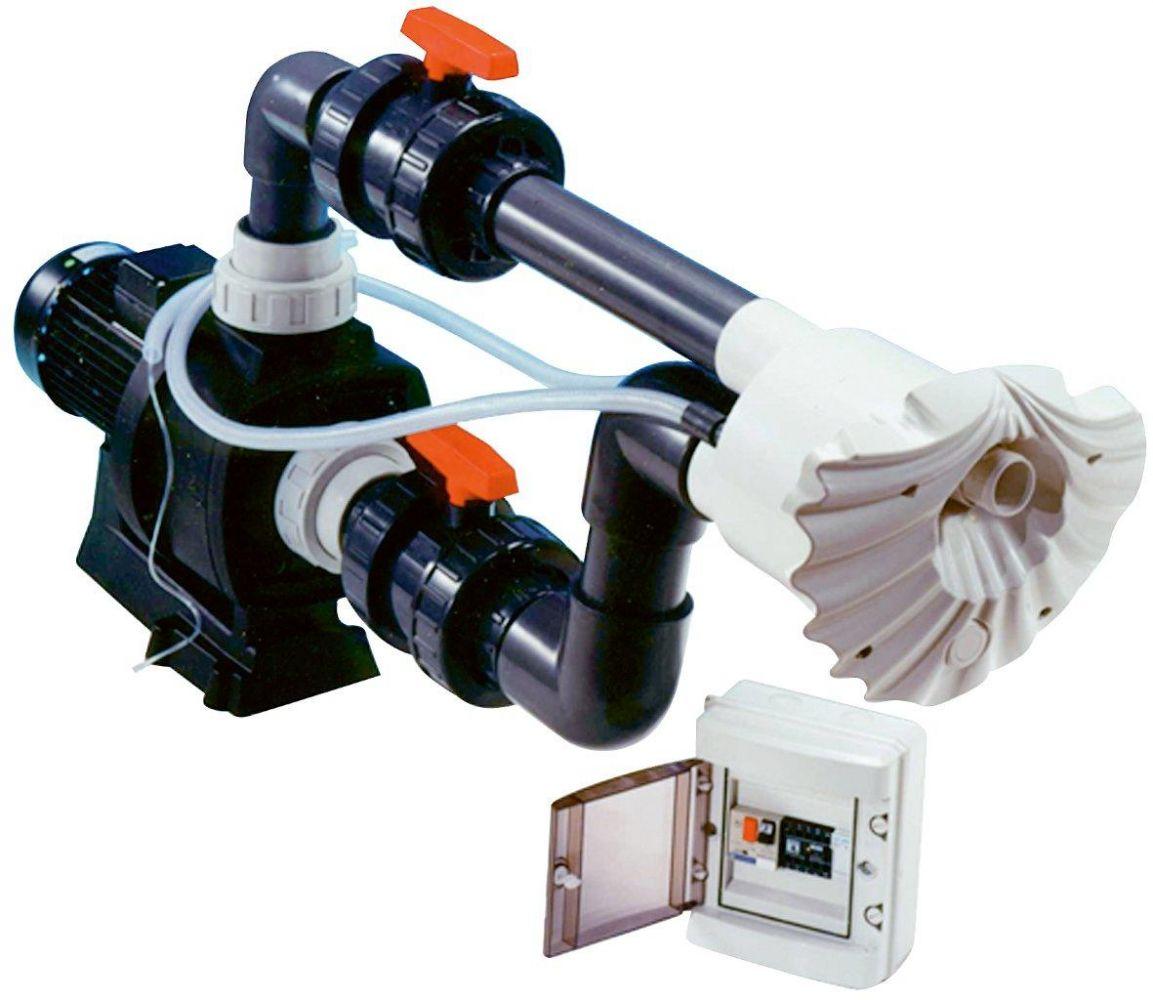 Protiproud K-JET Sena -- 40 m3/h, 230 V, 2,3 kW, pro fólii a předvyrobené baz.
