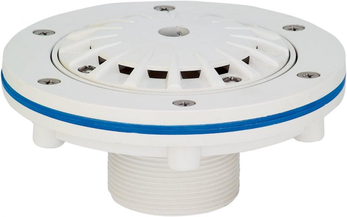 Podlahová tryska KRIPSOL - 14 m3/h, uzavíratelná 0--100 %, pro fólie