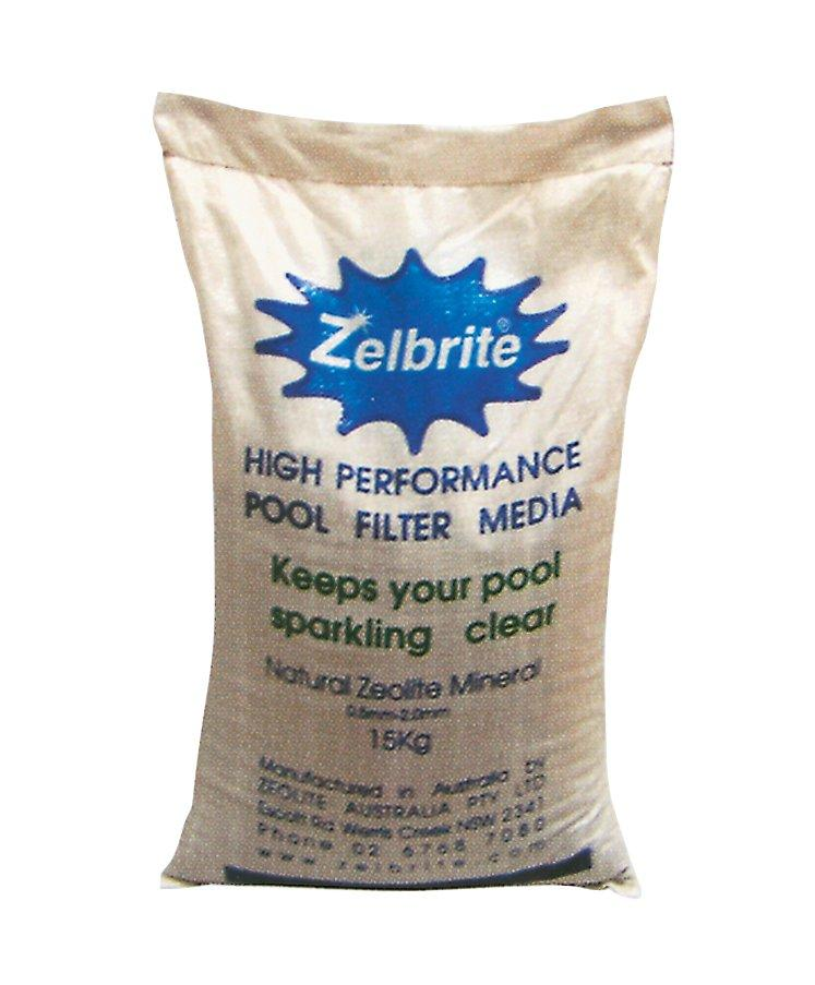 Zelbrite – náplň do filtrů, baleno po 15 kg
