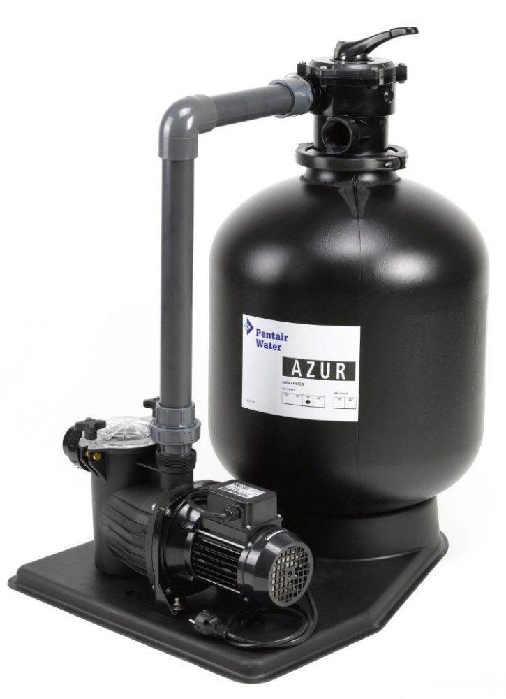 Filtrační zařízení - Azur KIT 480, 9 m3/h, 230 V (s čerpadlem Preva 50)