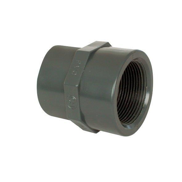 """PVC tvarovka - Mufna přechod. red. 75--63 x 2 1/2"""" int."""