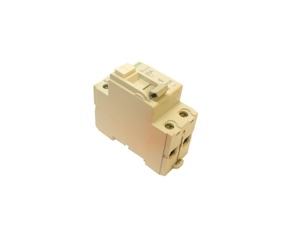 Chránič proudový 2 pólový, 25 A/30 mA