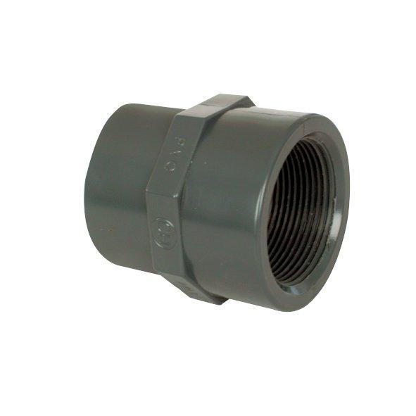 """PVC tvarovka - Mufna přechod. red. 110--90 x 3"""" int."""