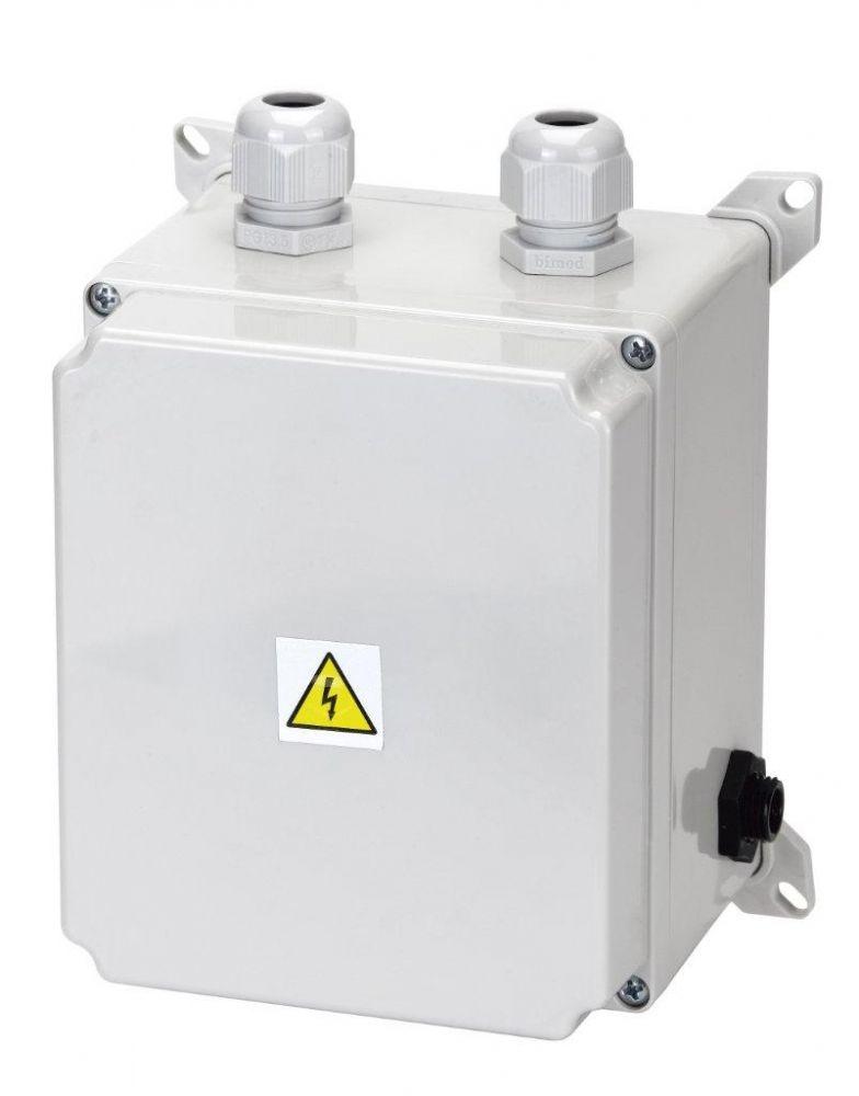 El. ovládání-spínání protiproudu 6-10A,IP65,tlakový spínač%pipe%2,5–4,5kW