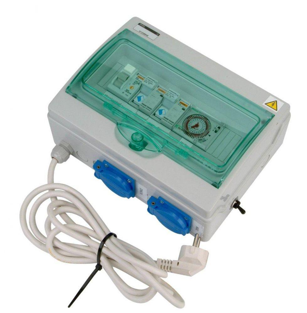 Automatické ovládání pro filtraci/el. topení - F1E3