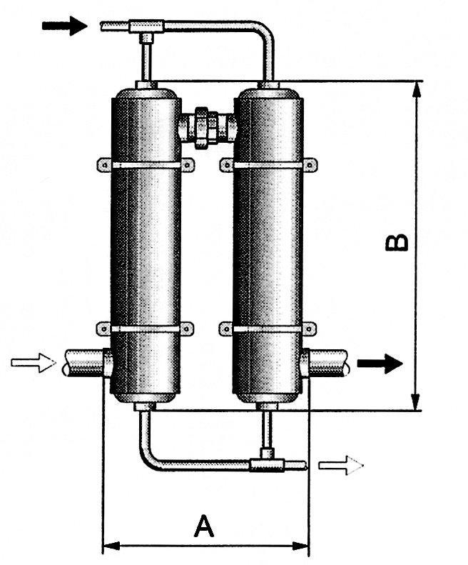 Tepelný výměník Maxi-Flo 127 kW
