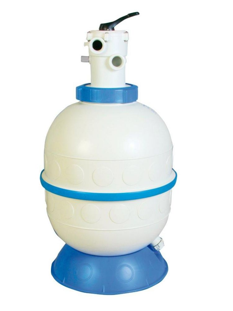 Filtrační nádoba GRANADA 500 mm, 9,5 m3/h, 6-ti cestný top-ventil