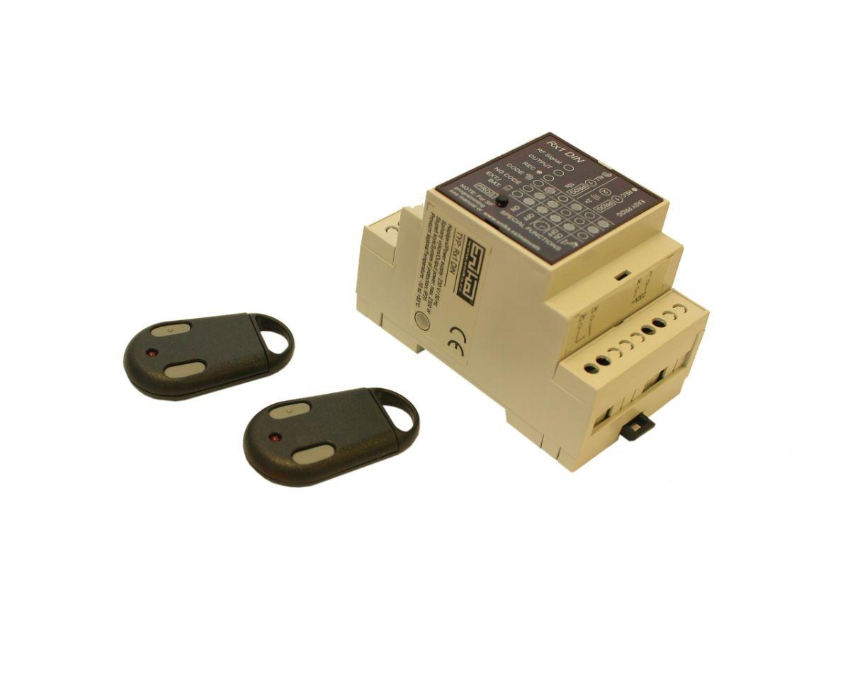 Dálkové spínání jedno-kanálové (tj. jednoho zařízení) 2x klíčenka