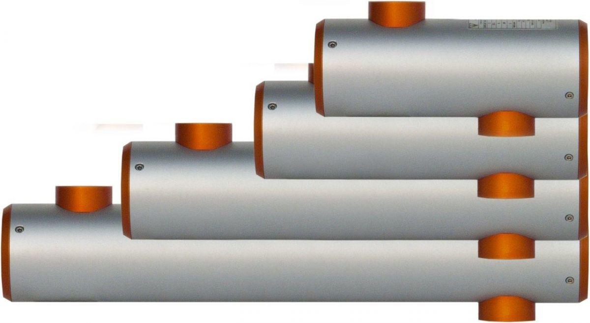 Tepelný keramický výměník OVBC 400 - 46 kW(80°C) / 26 kW(50°C)